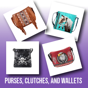 Purses, Clutches, and Wallets